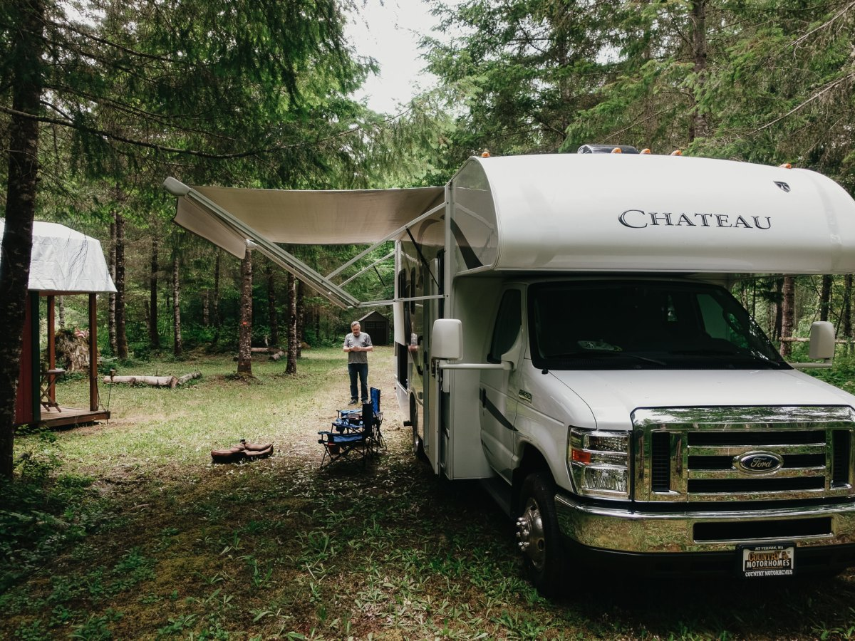 our camper site